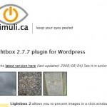 本站使用的WordPress插件-Lightbox 2